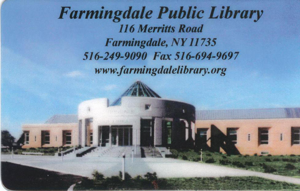 Link to Farmingdale Public Library Home Page